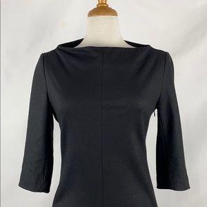 Diane Von Furstenberg Black Thandi Knit Dress